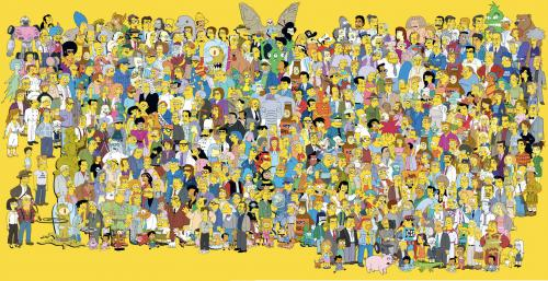 Simpsons Anniversary Poster