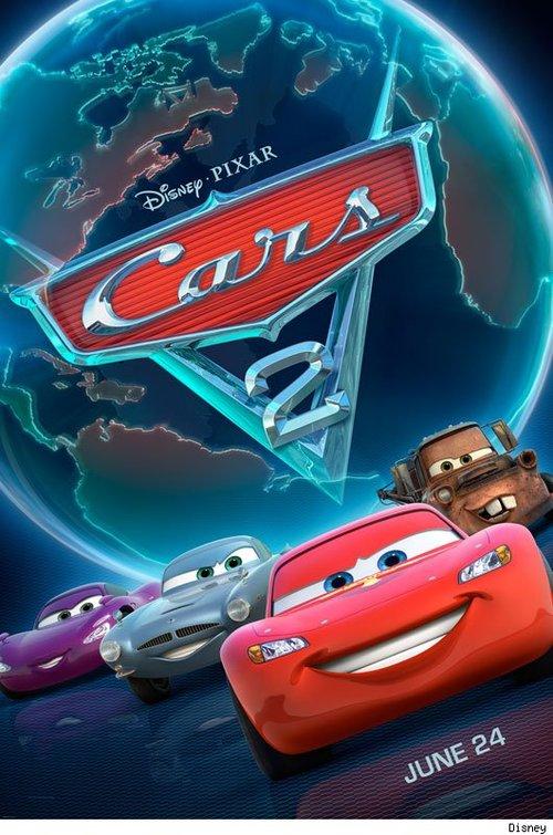 pixar cars 2 posters. New #39;Cars 2′ Poster